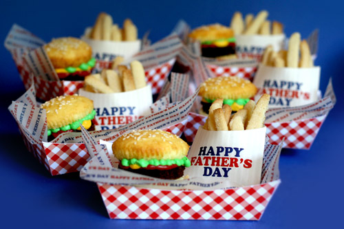 Fast Food Sweets: Cookie Fries and Cake Burgers | The Party Connection ...