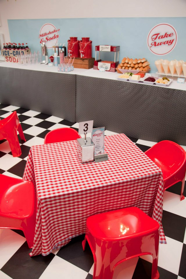 Retro 50 S Diner The Party Connection Your Liaison To