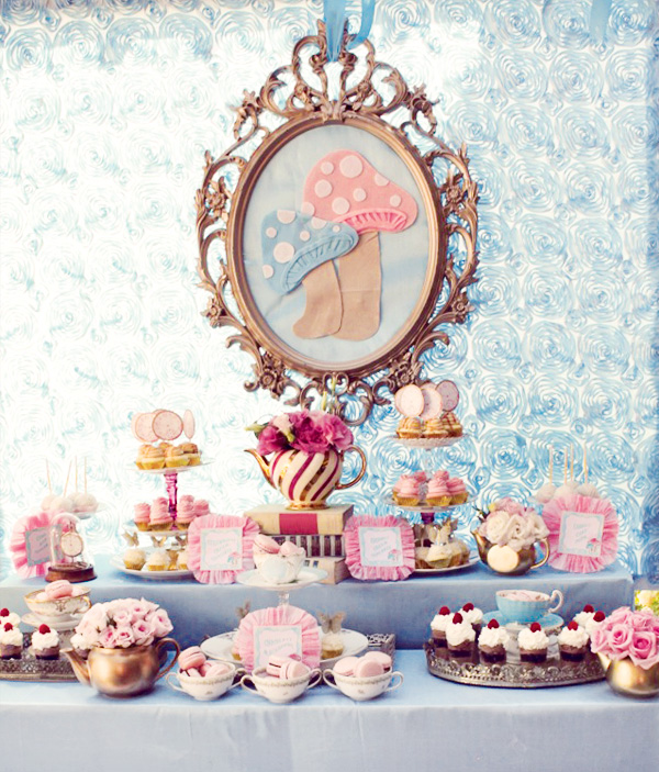 Alice In Wonderland Tea Party Decoration Ideas 2017