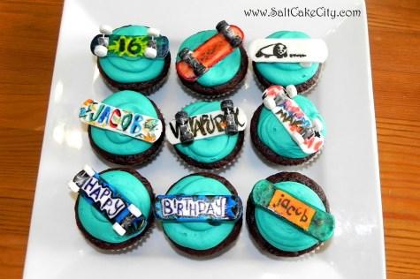 213 Skateboard Cupcakes 9