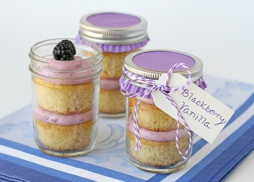 Blackberry and Vanilla Cake