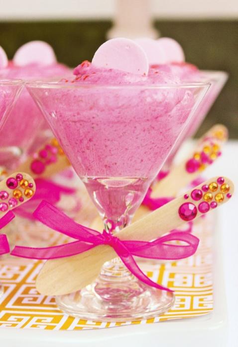 raspberry-mousse