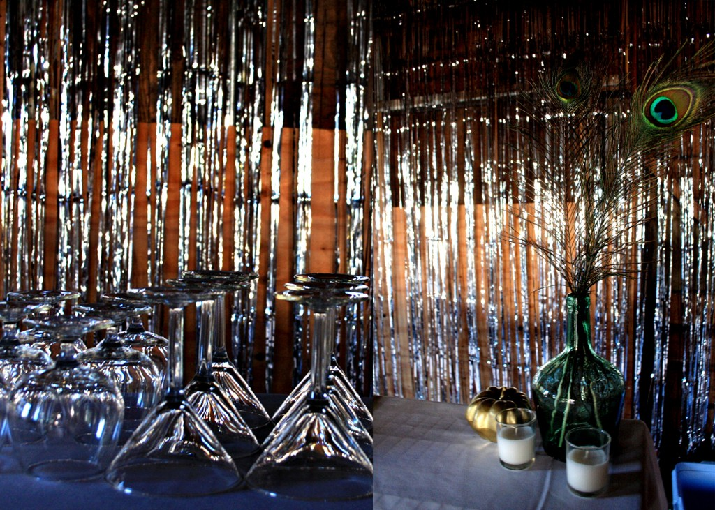 A great gatsby party the party connection your liaison for Back ground decoration