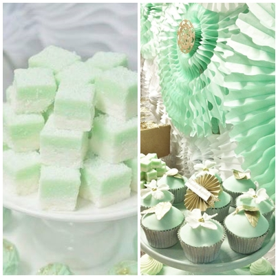 mint-n-gold-party-dessert-table-cupcakes