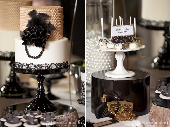 Get Your Gatsby On A Roaring 20 S Dessert Table The
