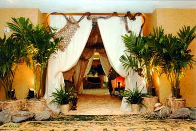 African Safari Tent