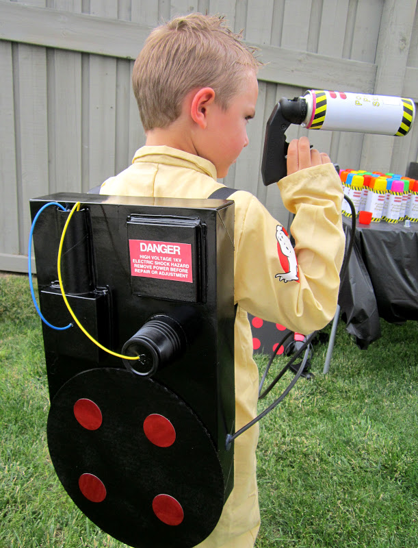mason and proton pack back