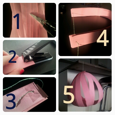 Pink Lemonade Lanterns