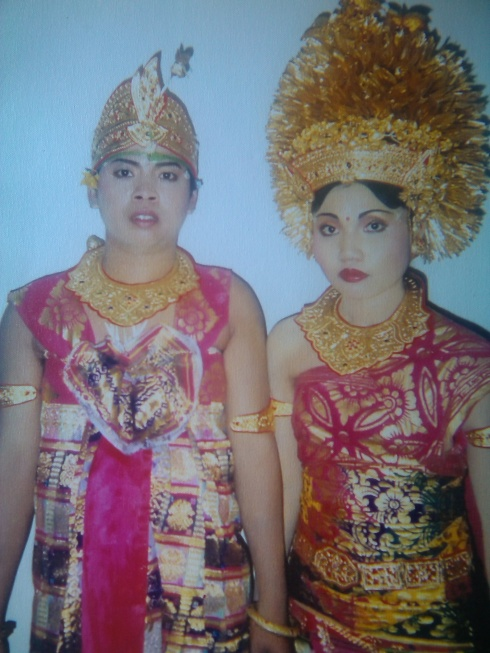 Wayan's Wedding Day