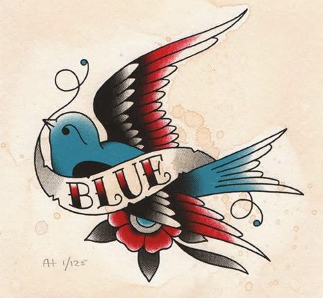 Classic Blue Bird