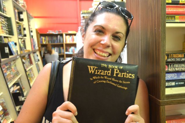 Wizard Party Book