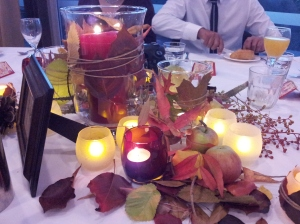 Autumn Centrepieces