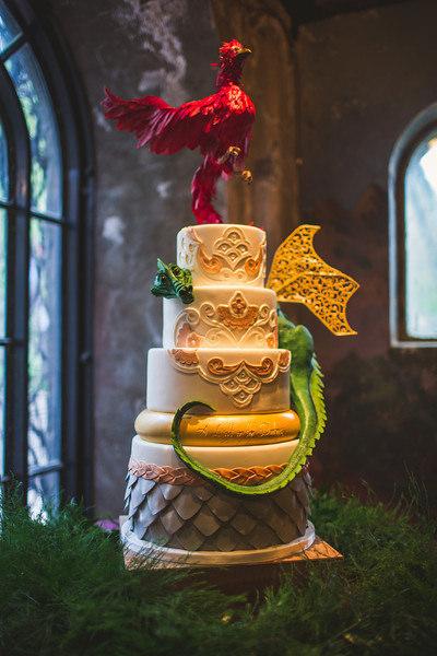 Cake Centerpiece