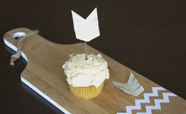 Arrow Cupcake Toppers