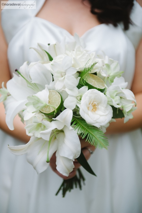 Lime and Coconut Flowers