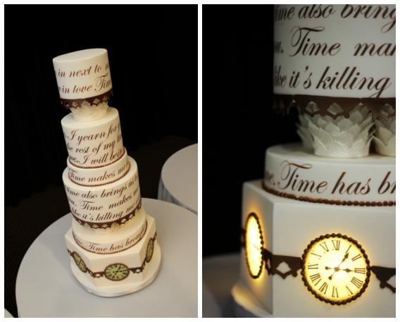 Clock Tower Cake
