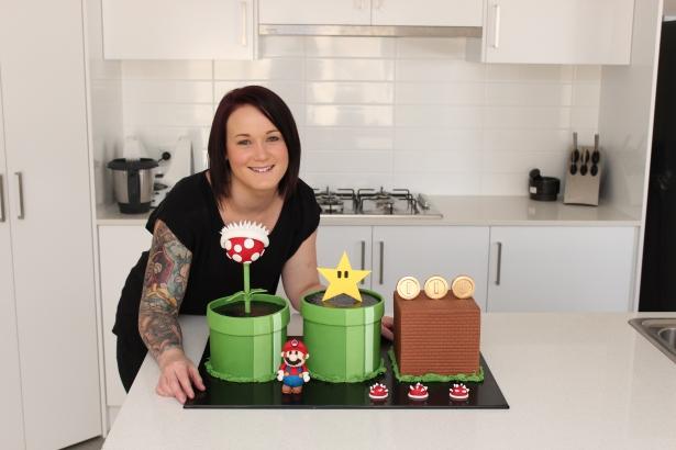 Lauren and Mario Cake