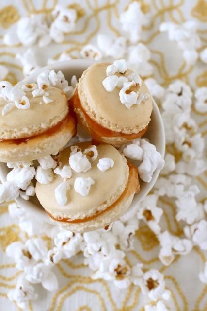 Popcorn Macarons