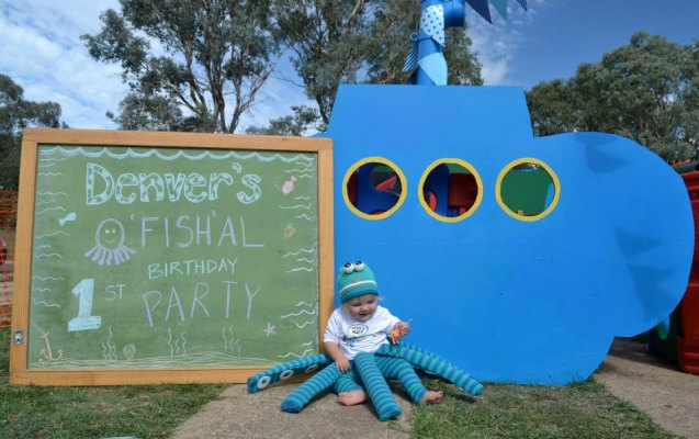 Denvers Ofishal first birthday