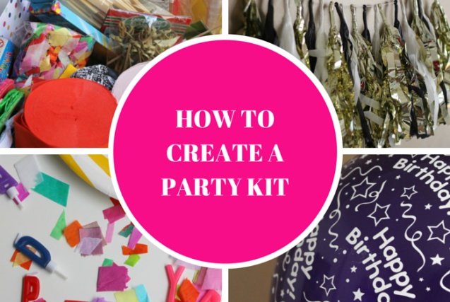 How To Create A Party Kit Header