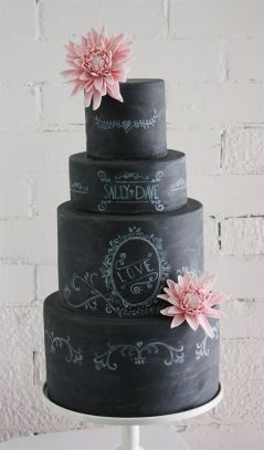 Chalkboard Cake