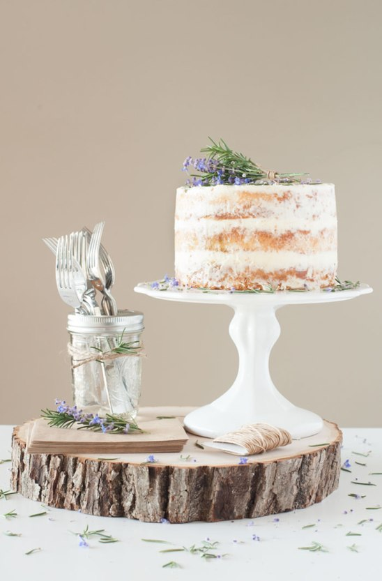 Lavender and Rosemary Cake
