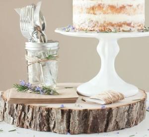 Tree Trunk Serving Platter