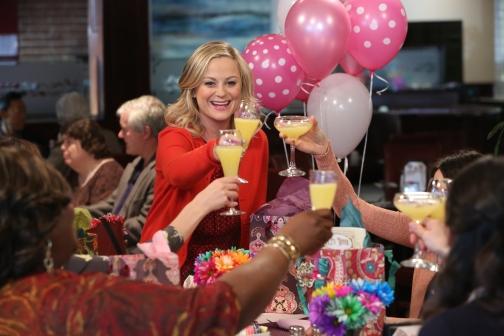 "PARKS AND RECREATION -- ""Galentine's Day"" Episode 617 -- Pictured: -- (Photo by: Danny Feld/NBC)"