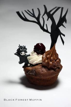 Black Forrest Muffin