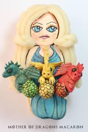 Mother of Dragons Macaron