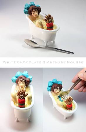 White Chocolate Nightmare Mousse