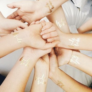Bride_Tribe_Gold_Foil_Tattoos_2