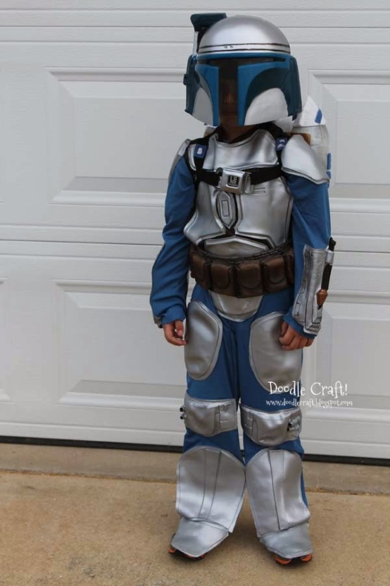 Jango Fett Halloween costume alter a store bought star wars with jet pack diy  (1).JPG