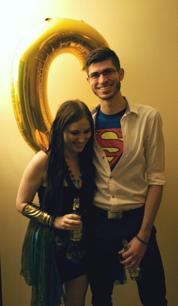 Cleopatra and Clark Kent